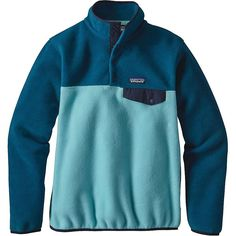 Patagonia 25442 Women/'s Mogul Blue X-Dye Re-Tool Snap-T Jacket