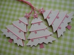 VSROSES - Winter Wonderland Christmas Tree Tags Really like how the cord is wrapped around the tree Winter Wonderland Christmas, Cool Christmas Trees, Christmas Cards To Make, Christmas Tag, Handmade Christmas, Christmas Crafts, Christmas Ornaments, Holiday Gift Tags, Candy Cards