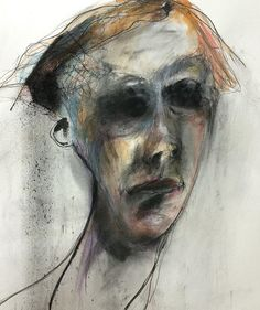 recent work/online sales gallery Online Gallery, Art Gallery, Abstract Portrait, Drawing Portraits, Drawings, Male Figure, Ceramic Artists, Face Art, Figurative Art