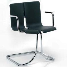 Joe Colombo; 'Sbalzo' Chair for ICF, 1964.