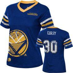 Golden State Warriors Girls adidas Player Replica Jersey Tee