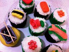 sushi cupcake ideas | 736px