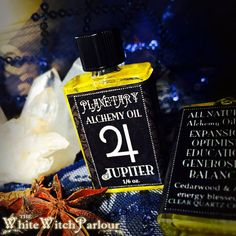 JUPITER PLANETARY ALCHEMY Oil All Natural. For Generosity, Wisdom, Optimism, Balance, Expansion, Self- education, Justice, Luck, Sagittarius  facebook.com/thewhitewitchparlour