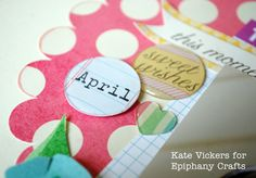 Create your own epoxy words with the #epiphanycrafts Shape Studio Tool Round 25 available at #MichaelsStores www.epiphanycrafts.com #scrapbook #ellesstudio