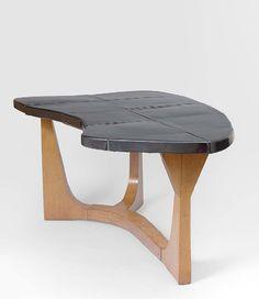 Table de salle à manger de Georges Jouve et Janette Laverierre, 1953 (Galerie Jacques Lacoste)