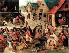 Un'opportunità imperdibile dunque per apprezzare straordinari dipinti, per la prima volta in Italia, come il magnifico Le sette opere di misericordia (1616 – 1618 ca.) di Pieter Brueghel il Giovane, in cui le diverse rappresentazioni della carità vengono esaltate e declinate attraverso l'intensità delle figure ritratte, richiamando per contrapposizione il superbo I sette peccati capitali di Hieronymus Bosch (1500 ca.), o Il ciarlatano della scuola di Bosch, entrambi presenti in mostra e mai…