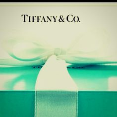 Joy comes in a little blue box tied with a white bow