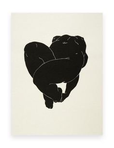 """Christian Johnson :: From series """"Twelve Easy Pieces,"""" 2010, a suite of 12 Linocuts."""