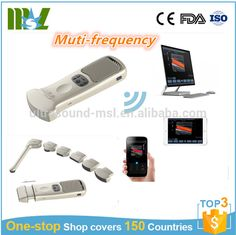 New arrived portable wireless multi-frequency color doppler ultrasound probe (MSLPU plus-F)