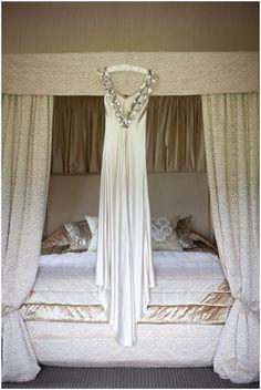 Stunning couture Johanna Johnson wedding dress