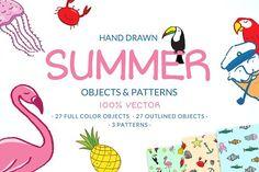 Vector Summer Pack by MonstroCity on @creativemarket