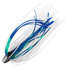 C&H King Buster - Rigged - White/Blue Mylar