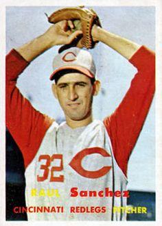 393 - Raul Sanchez RC - Cincinnati Reds