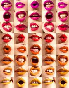 A rainbow of lipsticks....which one will you choose? x