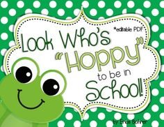 """This download is for a  Look Who's Hoppy to be in """"Pre-K,""""  """"Kindergarten,"""" """"First,"""" """"Second,"""" """"Third,"""" """"Fourth,"""" """"Fifth,"""" and """"Look Who's Hoppy to be in  ____'s Class"""" door signs.  Also, included are blank circles for you to type your students' names in."""