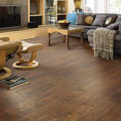 "Shaw Floors Arbor Place 5"" Engineered Hickory Hardwood Flooring in Pathway & Reviews   Wayfair"