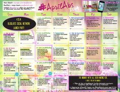 30 day ab workout with Blogilates