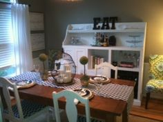 Burlap & Lace: Reader Redo: My dining room was featured on a blog! :)
