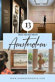One of the top things to do in Amsterdam is visit one of the many museums. Here are the top 13! #Amsterdam #Netherlands #Europe