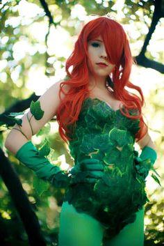 [Self] Classic Poison Ivy from DC Comics - by Megumi Koneko