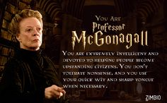 Which 'Harry Potter' Professor Are You?