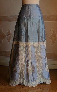 Edwardian petticoat or under skirt.