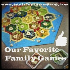 Favorite Family Games - 5 Days of Great Family Games at @FruitNSeason