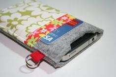 gift for mom Iphone Ipod case sleeve 100 merino by AlexMLynch. $20.00, via Etsy.