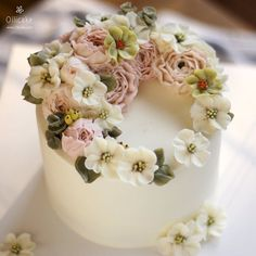 Butter Cream Flower Cake                                                                                                                                                                                 More