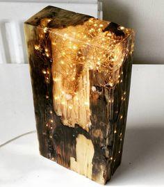 A commissioned piece ready to go to its new home    #reclaimedwood #lightblock #antiquewood #resin #lightsculpture #sculpture #etsyorder #etsy #etsyseller #handcrafted #handmadeinni #light #lightdesign #lamp #lightupyourlife #shophandmade