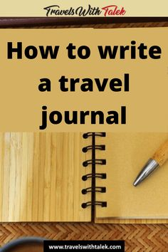 Here are some expert tips and ideas for how to start a travel journal. Check out this beginner's guide to starting a travel journal so you can look back on your trips and reminisce about all the things you saw and experiences you had.  #travel #traveljournal #journal #write Travel Advice, Travel Quotes, Travel Ideas, Travel Info, Travel Hacks, Travel Essentials, International Travel Tips, Travel Reviews, Travelling Tips
