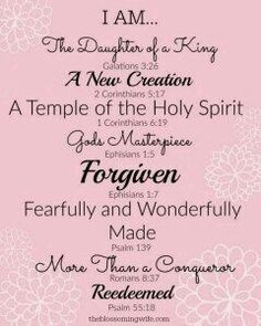 Praise #God for I am a #Daughter of The #King