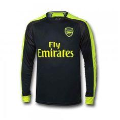 16-17 Arsenal Football Shirt Third LS Cheap Jersey [G00893]