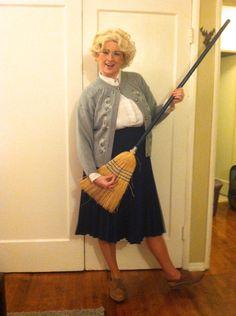 Mrs. Doubtfire Halloween costume