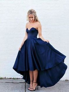 ecf3013cc2 2017 A-line Sweetheart Homecoming Dress Prom Drsess Juniors Homecoming  Dresses SKY098. Prom Dresses For TeensNavy Blue Prom DressesProm GownsBlue  Evening ...