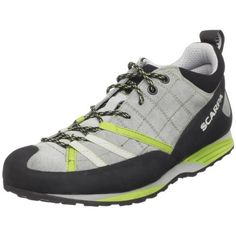 Scarpa Women's Geko Guide Approach Hiking Boot Scarpa. $169.00. Made in Italy. Rubber toe rand. Vibram sole. Sling shot heel rand. leather. Vibram sticky dot rubber