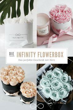 Verschenke diese edle, zeitlose Rosenbox an deine Lieben - Gesteckt mit haltbaren Rosen sehen sie auch nach Jahren genau so wunderschön aus wie am Tag ihrer schönsten Blüte. Dazu spendet jede Box an einen wohltätigen Zweck. Erfahre mehr auf unserer Website.