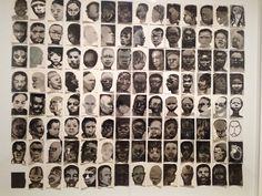 Kunstwerk uit de tentoonstelling 'The Image as Burden' van Marlene Dumas.