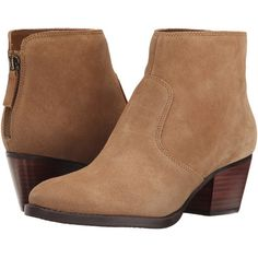Nine West Bolt Women's Pull-on Boots, Tan ($71) ❤ liked on Polyvore featuring shoes, boots, ankle booties, ankle boots, tan, short boots, nine west bootie, mid heel booties and pull on ankle boots