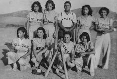 """TIL the original Wrigley Field was in Los Angeles in 1925 and Los Angeles had an all-women team in the called """"The Aztecas"""". Chicano, Baseball Girls, Baseball Stuff, Brown Pride, San Fernando Valley, Wrigley Field, Crazy Life, Historical Society, Back In The Day"""