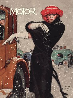 Motor - Snow by Ruth Eastman