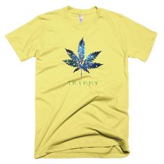 This beautiful T-Shirt was inspired by 1960s hippie culture. It makes a perfect gift for the wild at heart. This American Apparel t-shirt is the smoothest and softest t-shirt you'll ever wear. Made of