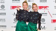 """Influencer of the year"""": Die Webvideo-Zwillinge Lena (r.) und Lisa (beide 15)"""