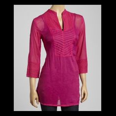 💗 ⓈⒽⒺⒺⓇ ⒻⓊⓈⒽⒾⒶ ⓉⓊⓃⒾⒸ 💗 Cotton Tunic! NWOT size XL Tops