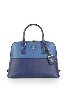 prada messenger nylon bag - Prada - Saffiano Vernice Embellished Medium Promenade Top Handle ...
