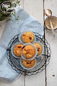 Paleta Smaku: Mleczne śniadanie na rozpoczęcie roku szkolnego: Muffinki z serkiem wiejskim