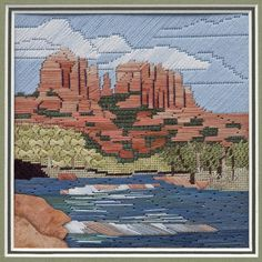 National Academy of Needlearts - Details on Item - needlepoint stitched by Lois Kershner