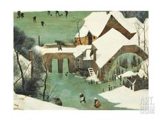 The Hunters in the Snow Giclee Print by Pieter Bruegel the Elder at Art.com