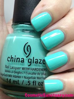 China Glaze Sunsational Collection Swatches