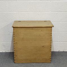 Antique Pine Grain Bin (F9457A) Antique Pine Furniture, Grains, Antiques, Antiquities, Antique, Korn